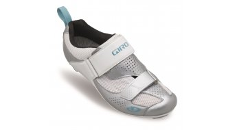 Giro Flynt Tri Rennrad-Schuhe Damen-Schuhe silver/white milky blue Mod. 2017