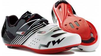Northwave Torpedo Junior Rennrad Schuhe Kinder-Schuhe white/black/red