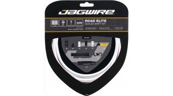 Jagwire Road Elite Sealed Schaltzugset weiß
