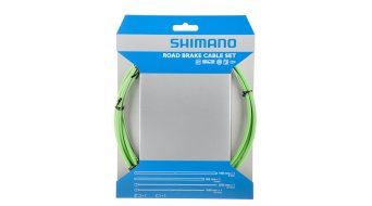 Shimano OT-SP41 PTFE Road Bremszug-Set grün