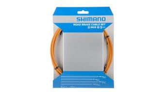 Shimano OT-SP41 PTFE Road Bremszug-Set orange