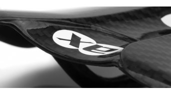 AX Lightness Leaf 3K Carbon Sattel (bis-100kg-Fahrergewicht)