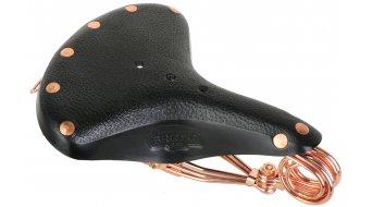 Brooks B33 Black Copper Leder Sattel Kupfergestell schwarz - Limited Edition
