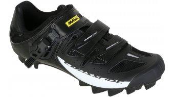 Mavic Crossride SL Elite Cross-Country-Schuhe Gr. 42 (8) black/white/black - VORFÜHRTEIL mit Montagespuren der Cleats