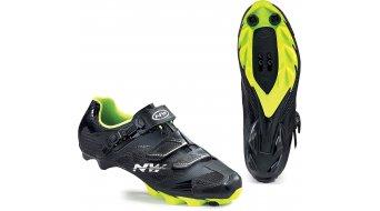 Northwave Scorpius 2 SRS MTB Schuhe Gr. 41.5 black/yellow fluo