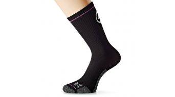 Assos bonkaSock evo7 Socken Gr. 39-42 (I) black Volkanga