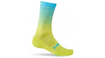 Giro Merino Winter Wool Socken Gr. S lime/blue Mod. 2016