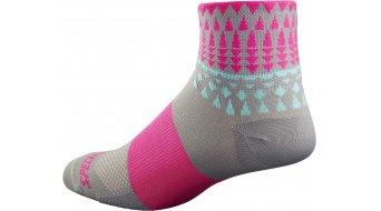 Specialized RBX Mid Socken Damen-Socken Gr. XS/S light grey/neon pnk