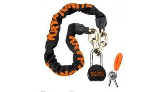 Kryptonite Messenger Chain & Moly 100cm Kettenschloss schwarz