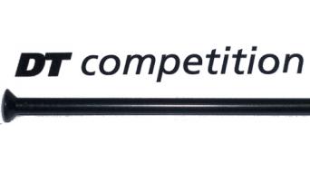 DT Competition Straight Pull Speiche 2.0-1.8-2.0 schwarz