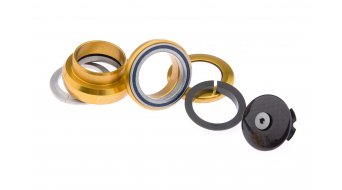 Tune Bubu Steuersatz semi-integriert 1 1/8 schwarz inkl. Carbon-Deckel & GumGum (ZS44/28.6 | ZS44/30) (Abb. ähnlich))
