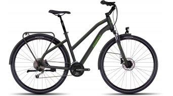 Ghost Square Trekking 4 Trekkingbike Komplettbike Damen-Rad Gr. XL black/green Mod. 2016