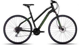 Ghost Square Cross 2 AL Fitnessbike Komplettrad Damen-Rad black/riot green/urban gray Mod. 2017