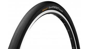 Continental SportContact II Double SafetySystem Breaker Drahtreifen schwarz 3/180tpi