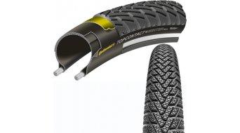 Continental TopCONTACT II Winter Premium VectranBreaker Touring-Citybike-Faltreifen schwarz 3/180tpi m. Reflexstreifen