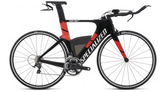 Specialized Shiv Expert 28 Triathlon Komplettbike carbon/rocket red Mod. 2017