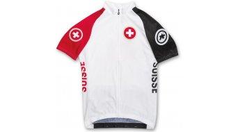 Assos SS.suisse Rio Trikot kurzarm Herren-Trikot white/red