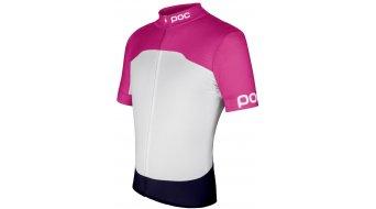 POC Raceday Climber Trikot kurzarm Herren-Trikot Fitted Gr. L fluorescent pink/hydrogen white - VORFÜHRTEIL