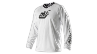 Troy Lee Designs White-Out Trikot langarm Herren-Trikot MX-Trikot white Mod. 2015