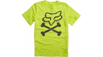 Fox Lansing T-Shirt kurzarm Kinder-T-Shirt Youth Tee Gr. 152/164 (YXL) flo yellow
