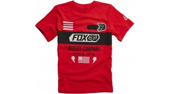 Fox Osage T-Shirt kurzarm Kinder-T-Shirt Youth Tee Gr. 140/146 (YL) flame red