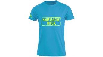 HIBIKE Hauptsache Biken. T-Shirt kurzarm Kinder-T-Shirt Gr. 92/98 (90/100) türkis/neon