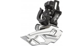 Shimano XT 2x10-fach Umwerfer schwarz Direct-Mount Down-Swing Dual-Pull 44-38T 66-69° FD-M786-A-D