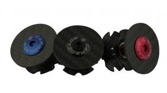 Carbocage Carbon Aheaddeckel mit Kralle, Aluminiumschraube eloxiert