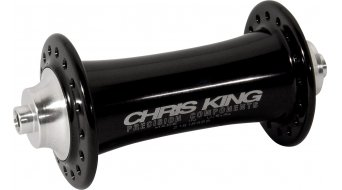 Chris King Classic Low Flange Vorderradnabe QR 9x100mm black