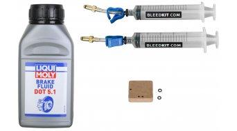 Bleedkit Standard Plus+ Entlüftungskit Avid & Formula Liqui Moly DOT Flüssigkeit