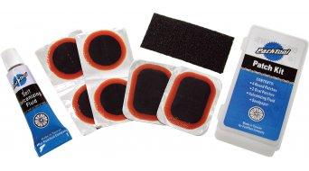 Park Tool VP-1 Vulkanisierende Reifenflicken 6 Stck, 1 Tube, Sandpapier