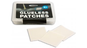 Schwalbe Glueless Patches selbstklebende Schlauchflicken für Schwalbe Evo Tube 6 Stück