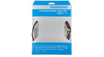 Shimano ATB/MTB Bremszug-Set mit 2 Zügen, Außenhüllen und Endkappen