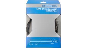 Shimano Road Bremszug-Set komplett mit 2 Zügen und Aderendhülsen